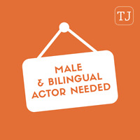 Bilingual Male Actor Needed for Promotional Video (35 - 50 yrs)
