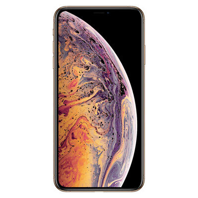 Apple iPhone XS Max 64GB Gold - (AT&T) MT5X2LL/A (CDMA + GSM)