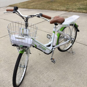 "Hybrid ebike, with peddle assist by power 24"" brand new"