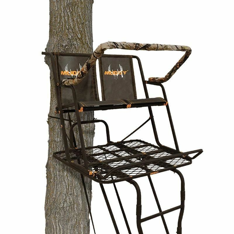 """Muddy The Partner 17"""" Ladderstand (2-person)"""