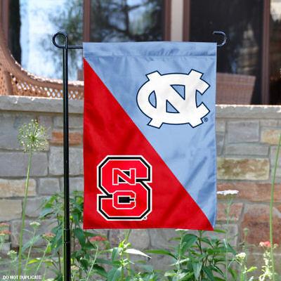 House Divided Garden - North Carolina Tar Heels House Divided Garden Flag and Yard Banner