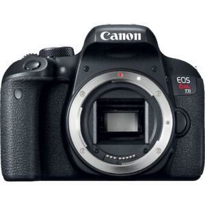 canon t7i new in box ..02 shutter count