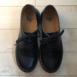 Dr. Martens Women's Shoes 1461 Black Smooth
