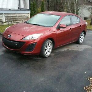 Mazda3 2011 81500km très propre