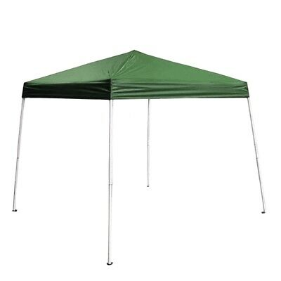 (ALEKO 8'x8' Iron Foldable Gazebo Canopy For Outdoor Events Picnic Party Green)