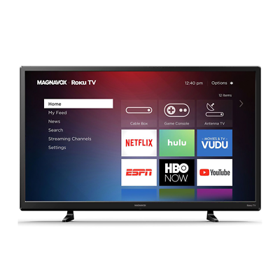 "Magnavox 32MV319R/F7 32"" 720p Smart Roku LED TV 60Hz"