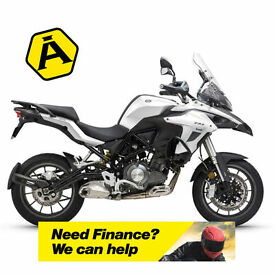 BENELLI TRK 502 - ADVENTURE MOTORCYCLE