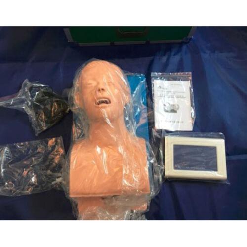 110V Intubation Manikin Study Teaching Model Airway Management Trainer Education