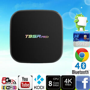T95R Pro 4K Android Box  (Android 7.1 , S912 Chip, 2GB Ram) $115