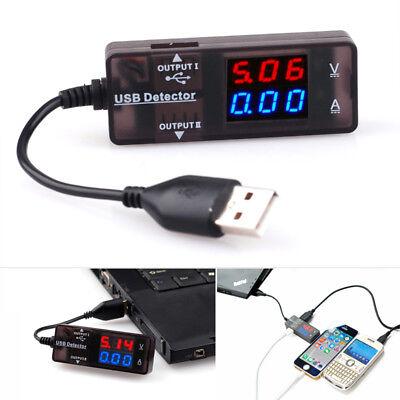 Digital LED USB Mini Charger Doctor Voltage Current Meter Tester Power Detector
