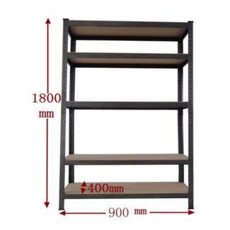 0.9M Steel Garage Warehouse Rack Shelves Storage Shelving Shelf