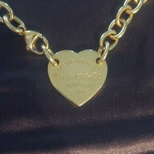 Return to Tiffany 18kt Gold Necklace