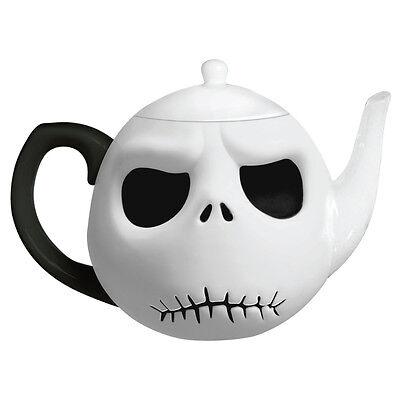 55501 NIB Disney Nightmare Before Christmas Jack Skellington Head Teapot Kitchen