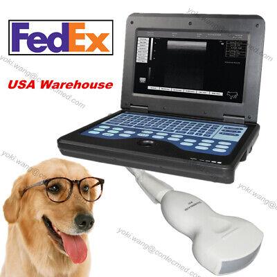 Portable Ultrasound Scanner Vet Veterinary Laptop Machineconvex Animal Us Ship