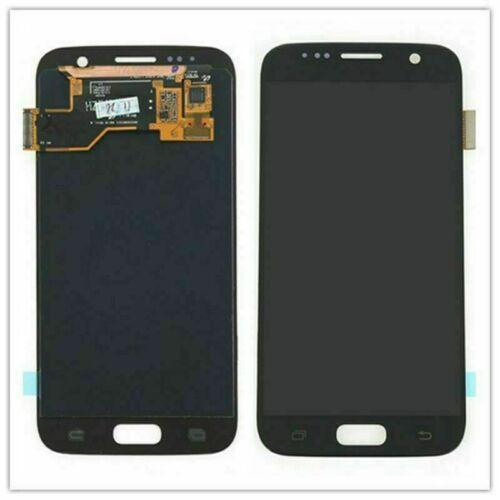 Samsung Galaxy S7 Edge LCD Display Screen Digitizer W/ Frame Assembly Black