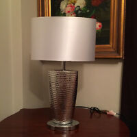 Two Bouclair Table Lamps