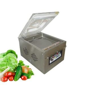 110V Commercial Table Type Vacuum Sealer Food Sealing Packaging Machine 110V 151021