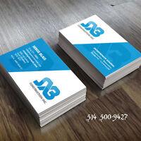 Carte d'affaires, Logo, Infographie, graphisme, site web