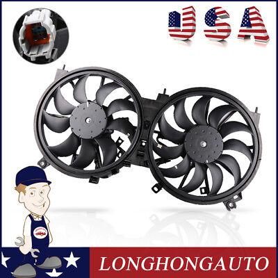 Nissan Quest Radiator Fan (Radiator Cooling Fan ASSY Work for Nissan 09-14 Murano 11-15 Quest V6 214811AA0A )