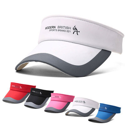 Headband Visor - Adjustable Tennis Sports Cap Sun Visor Golf Cap Headband Hat Vizor