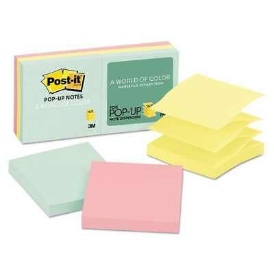 Post-it Pop-up Notes Original Pop-up Refill 3 X 3 Assorted Mar 021200726125