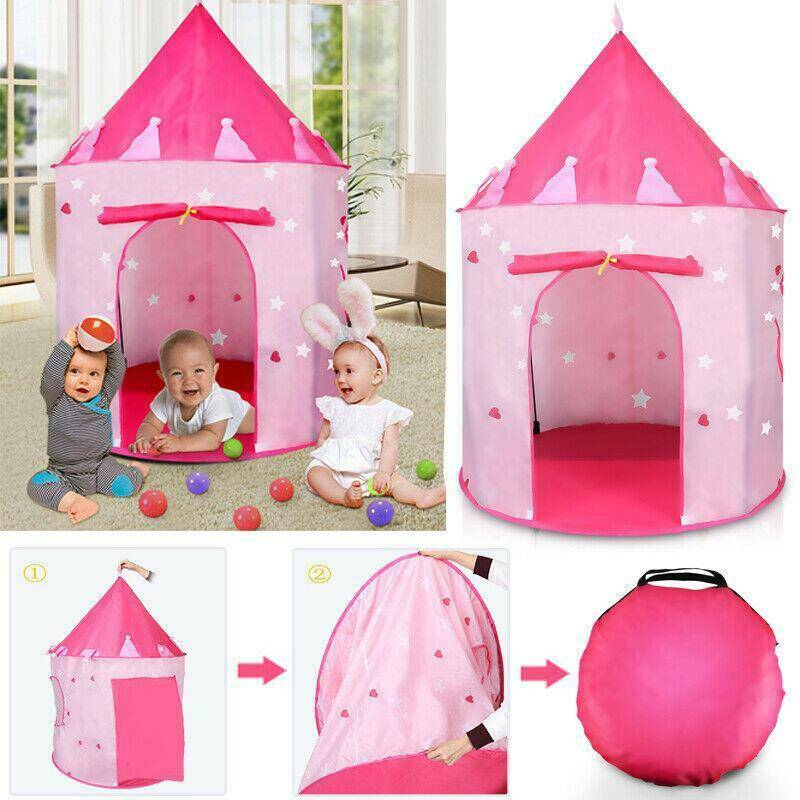 Toys For Girls Boys Children Play Tent House for 3 4 5 6 7 8