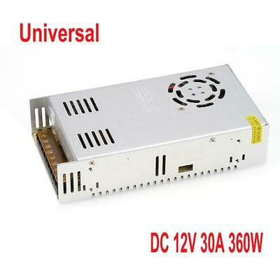 1x Regulated Switching Power Supply 30a 12v Dc 360w For Cctv Radio Led Strip Cnc