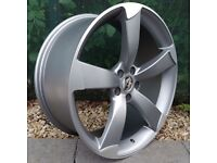 """20"""" TTRS Style Alloy Wheels for Audi A4, A5, A6 Etc"""
