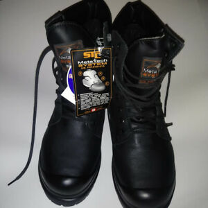 NEW - STC leather steel toe size 6.5 mens (8.5 womens) work boot