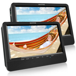 Brand New 10.5'' Dual Screen Portable DVD Player (Car/Travel)***