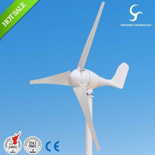 Hybrid Wind Turbine S2 3 Blades 100W ~ 400W with a Waterproof Controller 12V 24V