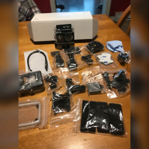 Victure AC200 full kit and camera