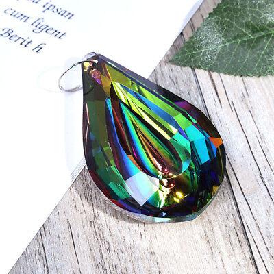 Rainbow Crystal Suncatcher Chandelier Lamp Prism Hanging Pendant Home Decor - Crystal Suncatchers