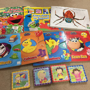 Toddler and preschool books