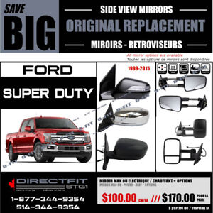 FORD F150 – F250 – F350 Super Duty [1999-2003]► MIROIR –  MIRROR
