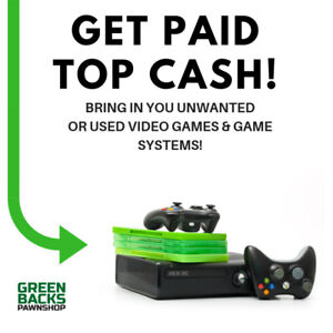 WANTED: VIDEO GAMES & CONSOLES