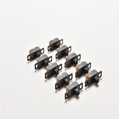 New 20pcs 5v 0.3a Black Mini Size Spdt Slide Switch On-off 3-pin Pcb For Diypvca