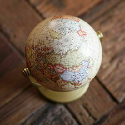 Terrestrial Globe World Small Globe Home Decoration Vintage English Edition Map