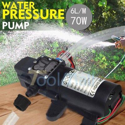 Automatic Switch - 12V Water Pump 130PSI Self Priming Pump Diaphragm High Pressure Automatic Switch