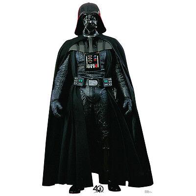 DARTH VADER Star Wars CARDBOARD CUTOUT Standup Standee Poster 40th Anniversary - Darth Vader Cut Out
