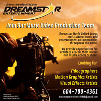 Looking for Passionate Video Production Artists