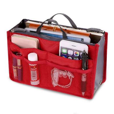 Organizer per borse Bag in organizza la borsa con tasche interne ed esterne RED