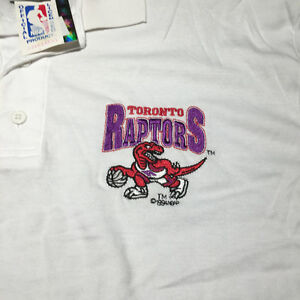 Toronto Raptors 1994 NBA Official Licensed Product Men's M Polo