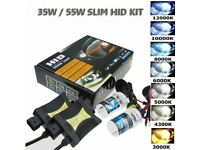 HID Headlight Conversion Kit 6000K Diamond White Brand New