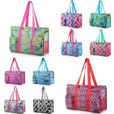 Lightweight All Purpose Zipper Travel Laundry Shopping Utili