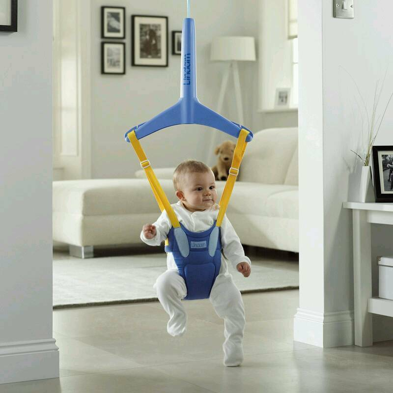 Baby door swing/bouncer used