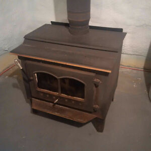 Woodstove & Interior Stovepipe for sale