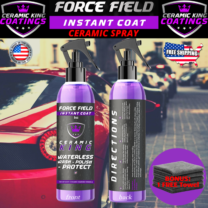 Owner Force Field Ceramic King Polish Seal Shine Protect Armor Your Ride #1 WorldWide