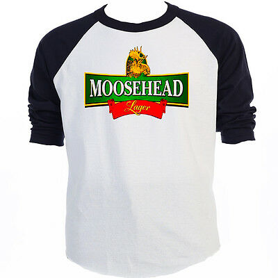 MOOSEHEAD BEER, Classic LOGO, Baseball Ts Sizes S-3XL,T-Shirt Sizes S-5XL,T-1148 ()