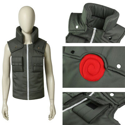 Popular Naruto Hatake Kakashi Cosplay Costume just the vest Halloween any size ](Popular Halloween Costumes)